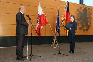Joachim Leibiger zum Landesbeauftragten für Menschen mit Behinderungen wiedergewählt