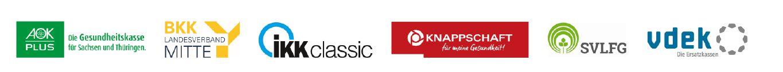 Logoleiste - GKV-Gemeinschaftsförderung Thüringen
