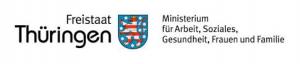 Logo des Thüringer Ministeriums für Arbeit, Soziales, Gesundheit, Frauen und Familie